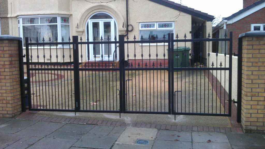 Wrought iron gates wirral railings