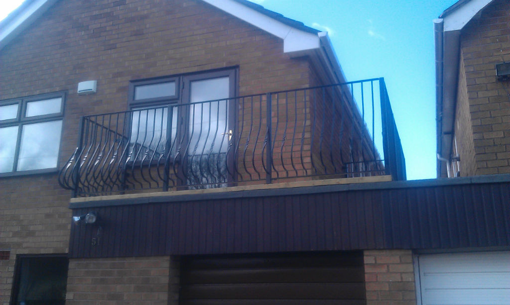 Balconies, Handrails and Grilles