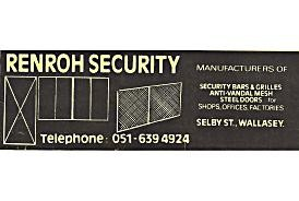Renroh Security Stationary 1980