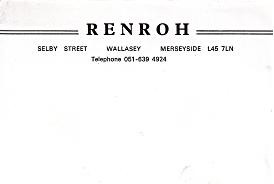 Renroh Stationary 1980